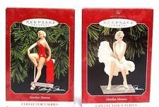 Lot of 2.Hallmark.Keepsake.Ornam ent.Marilyn Monroe.Collector Series.Mint