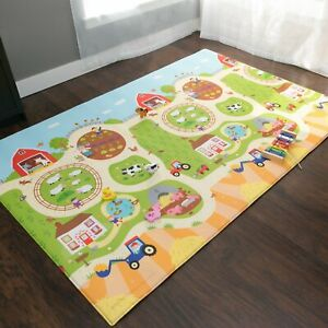 Baby Care Play Mat - (Busy Farm, Large) - Play Mat for Infant (Open Box)