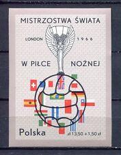 36083) POLAND 1966 MNH** World Cup Soccer Championship