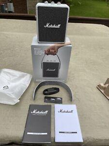 Marshall Stockwell II Grey Active Stereo Bluetooth Speaker