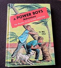 Power Boys Adventure Mystery of the Flying Skeleton by Mel Lyle hc 1964 Whitman