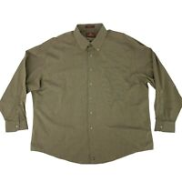 Nordstrom Dress Shirt Mens Size 18.5 - 35 Brown Long Sleeve Collared Button Down