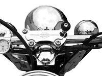 Harley Davidson Sportster Ram Mount Haltekugel TomTom Rider Garmin Zumo