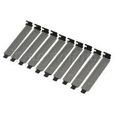 10PCS PCI Bracket Slot Cover PVC Dust Filter Blank PC Computer Dust Proof Case