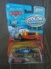 Disney Pixar Cars Color Changers DARRELL CARTRIP Extremely hard to find 2009