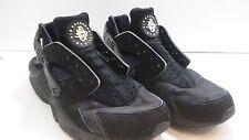 NIKE AIR HUARACHE BLACK WOMEN SIZE 7.5 Running Shoes #B12