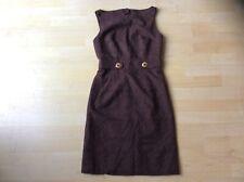 BERGDORF GOODMAN Milly of N York Brown Cotton Sheath Open Back Dress, Size: US 2