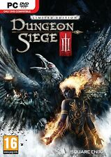 DUNGEON SIEGE 3 III LIMITED EDITION (PC) COVER UK