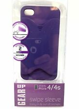 Gear Up Swipe Sleeve Apple iPhone 4 Smartphone Protective Case Shock Impact Pur