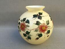 Xix Montatura In Bronzo Dorata Magnifico Vaso In Opalina