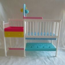 NEW! 2019 Barbie Skipper Babysitter Doll Nursery Crib Changing Table For Diorama