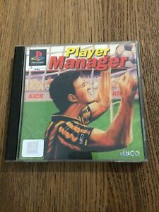 Player Manager Video Game for Sony PlayStation PS1 PAL TESTED RARE