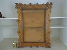 OUTSTANDING LARGE ANTIQUE AESTHETIC MOVEMENT ERA PICTURE FRAME CIRCA 1870