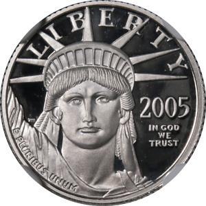2005-W Platinum American Eagle $10 NGC PF70 Ultra Cameo STOCK