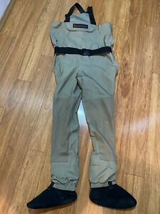 Redington Womens  Willow River Stockingfoot waders Chest high Sz S