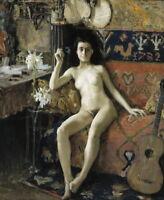 Akseli Gallen Kallela Demasquee Giclee Canvas Print Paintings Poster