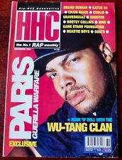 HIP-HOP CONNECTION NOVEMBER 1994 RAP MONTHLY PARIS WU-TANG KATCH 22 BOOTSY