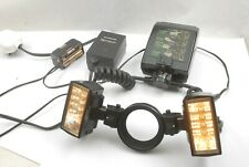 Olympus T-28 Macro Twin Flash System + mains power + modelling lamp power packs
