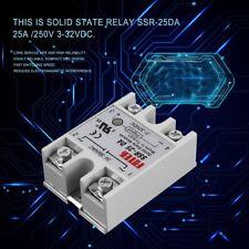 Solid State Relay Module SSR-25DA 25A /250V 3-32V Input 24-380VAC Output AZ