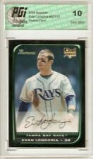 Evan Longoria 2008 Bowman Draft #27 Rookie Card PGI 10