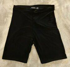 Nasty Gal black cycling shorts size 8