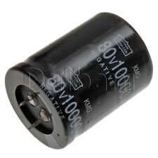 New Snap In 2 Pin Capacitor 80V 10000UF 35mm Diameter 45mm Height