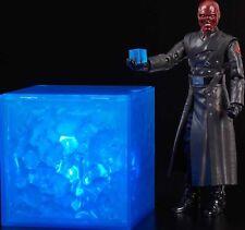 Marvel Leyenda Sdcc Rojo Skull & Tesseract 15.2cm Set de Figuras Nuevo