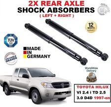 3.0TD 2 X Amortiguadores Trasero Para Toyota Hilux MK6 Pick Up 2.5TD 2005-2015