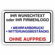 FIRMENSCHILD WERBESCHILD WARNSCHILD TEXT LOGO DESIGN IHR WUNSCHTEXT D-502