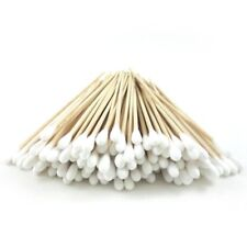 "200 Pc Cotton Swab Applicator Q-tip Swabs 3"" Extra Long Wood Handle - US SELLER"