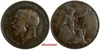 Great Britain George V 1918 H 1 Penny Ralph Heaton & Sons, Birmingham KM# 810