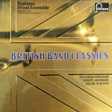 Eastman Wind Ensemble , Frederick Fennell - British Band Classics (2 X LP)