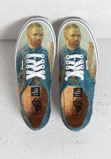 VANS x VINCENT VAN GOGH MUSEUM SELF PORTRAIT AUTHENTIC SHOES Women's SIZE 5