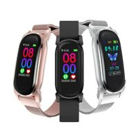 Body Temperature Measurement Smart Watch Heart Rate Monitor Fitness Tracker Band