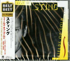 STING-THE BEST OF STING 1984-1994/FIELDS OF GOLD-JAPAN CD Ltd/Ed D95