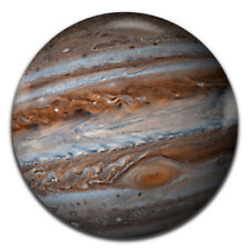 Jupiter Planet Space Science 25mm / 1 Inch D Pin Button Badge