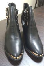 New Look No Pattern Standard (B) Block Heels for Women