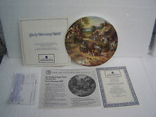 plate early morning milk by chris howels by wedgewood boxed + CERT
