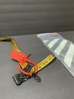New Off White Industrial Keychain Ribbon Key Buckle Lanyard Sneaker Streetwear