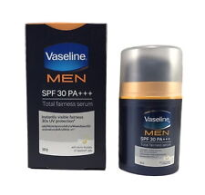 Vaseline MEN Face Anti Spot Whitening Total Fairness Serum SPF30 PA+++ 50g +TN