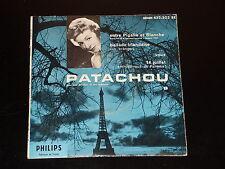 45 tours EP - PATACHOU - ENTRE PIGALLE ET BLANCHE - 1959