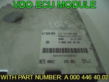 MERCEDES VARIO VDO ECU MODULE A 000 446 40 02 OFF 1997 VEHICLE
