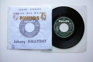 45t Jukebox Johnny Hallyday – Jeune homme Promo