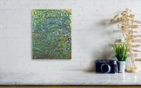 Gallery Price $100 8*10 Canvas original hand-painted Abstract texture painting