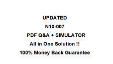 N10-007 -COMPTIA NETWORK + Exam QA PDF&Simulator