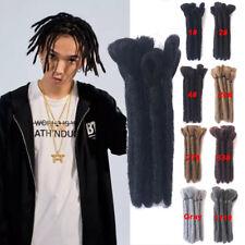 "6"" Reggae Dreadlocks Afro Dreads for Men Synthetic Twist Braided Hair Extensions"