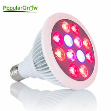 12W E27 Led Grow Light Red&Blue Spectrum Lamp For Hydro Indoor Plant Flower Grow