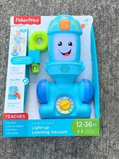 Fisher Price Light Up Learning Vacuum Counting Color Shapes Brand New ��~m9~
