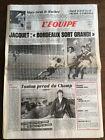 Journal l'équipe - 24 Avril 1987 - 42 eme année - n 12740