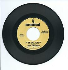 "1962 ROY ORBISON ""DREAM BABY"" 45rpm 7"""